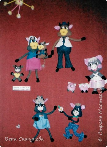 Все представленные изделия, в основном, авторские разработки. Кукольные и театральные игрушки фото 16