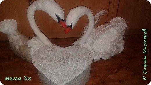 Свадьба свадьба..... Лебеди мои первые и пока единственная пара   фото 8