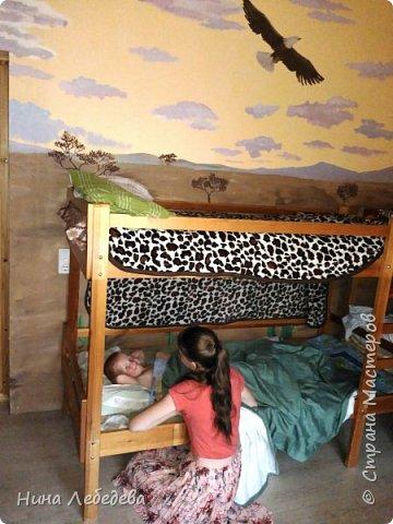 Оформила стены в новом доме у друзей... фото 14