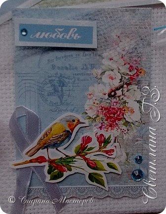 Пришло мне письмецо с нежной карточкой от Светланы http://stranamasterov.ru/user/352718  ,с подарочками,всё пригодится!!Светочка рада знакомству!!! фото 2