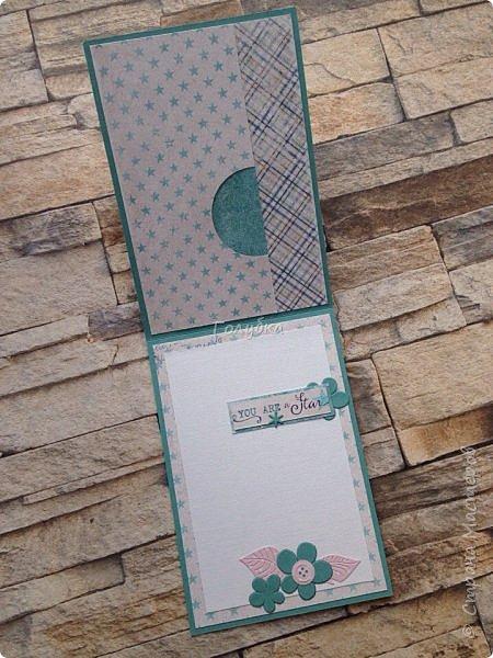 Вот такая открытка появилась у меня в качестве лифтинга:) В коллекции мужские карточки, но эта на мой взгляд унисекс:) Поэтому в моем исполнении это открытка для девушки:) Хотя у автора оригинала эта открытка для молодого человека. фото 4
