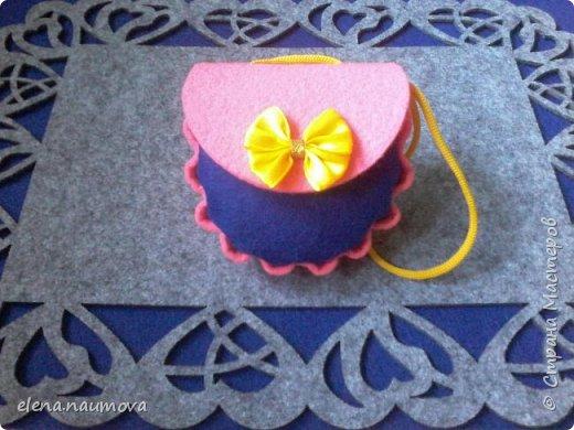 Как сделать кошелёчек-сумочку для девочки фото 10
