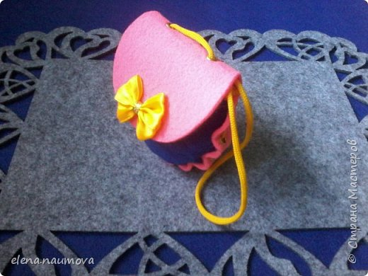 Как сделать кошелёчек-сумочку для девочки фото 11