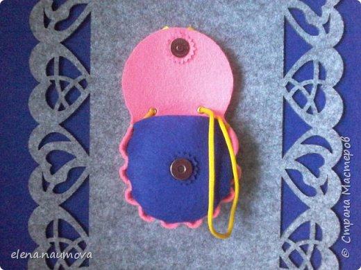 Как сделать кошелёчек-сумочку для девочки фото 12
