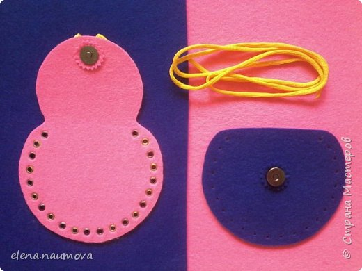 Как сделать кошелёчек-сумочку для девочки фото 6