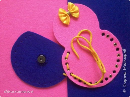 Как сделать кошелёчек-сумочку для девочки фото 7
