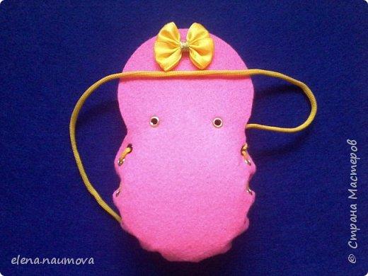 Как сделать кошелёчек-сумочку для девочки фото 9