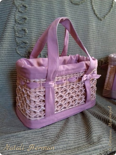 Вот такие сумочки -корзинки у меня получились!  фото 1