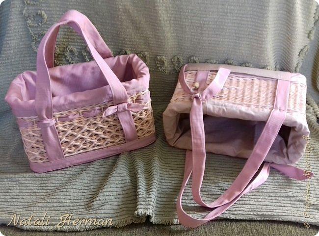 Вот такие сумочки -корзинки у меня получились!  фото 3