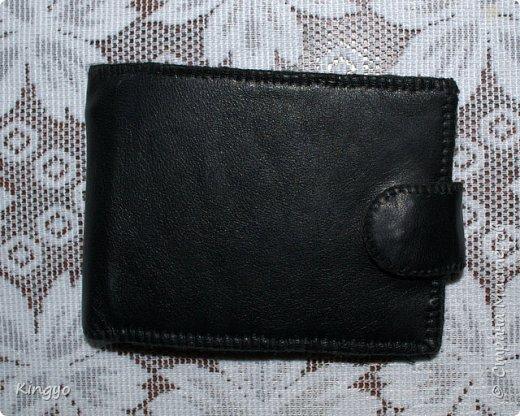 Представляю вашему вниманию реинкарнацию старого любимого мужниного портмоне: фото 1