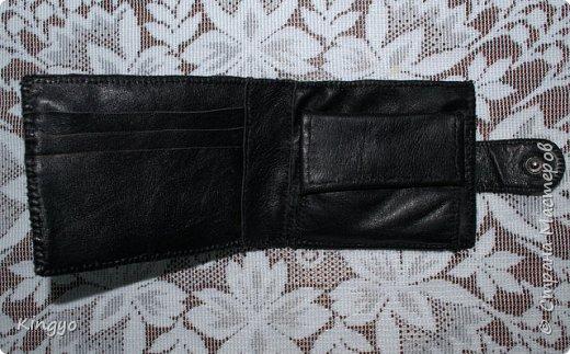 Представляю вашему вниманию реинкарнацию старого любимого мужниного портмоне: фото 2