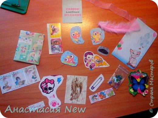 Всем привет! Сегодня я получила конвертик от мастерицы Анны Пудовкиной  http://stranamasterov.ru/user/386849. Большое тебе спасибо Аня! фото 1