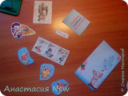 Всем привет! Сегодня я получила конвертик от мастерицы Анны Пудовкиной  http://stranamasterov.ru/user/386849. Большое тебе спасибо Аня! фото 3