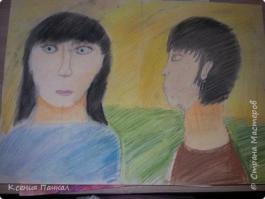 Доброго дня страна!!! Мои художницы подросли  и теперь радуют рисунками все чаще. Вот некоторые из них. Ниже представлены рисунки старшей доченьки Лизы. фото 3