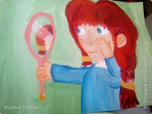 Доброго дня страна!!! Мои художницы подросли  и теперь радуют рисунками все чаще. Вот некоторые из них. Ниже представлены рисунки старшей доченьки Лизы. фото 1