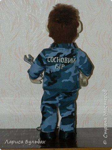 Кукла для человека, который работает сантехником в санатории. фото 2