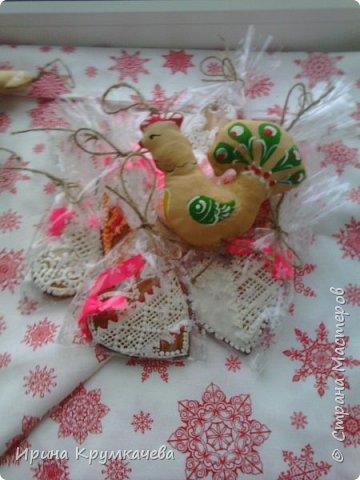 Имбирный пряник - отличный подарок на любой праздник . фото 1