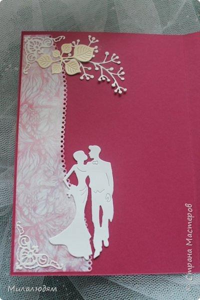 Всем здравствуйте! Здравствуйте и процветайте! Сегодня годовщина свадьбы дочери. И вчера я сделала такую открытку для моих любимых деток. Дела с удовольствием, очень соскучившись по скрапу. Хотелось сделать в желто-золотых тонах (у Саши было платье с тонкой золотой отделкой). Сделала и стала искать стихотворение и выясняется, что свадьба-то Медная!!! а у меня все розовое. Отошла я от дел, все позабыла, а ведь раньше то я все юбилейные свадьбы помнила. Позор моей седой голове. фото 18