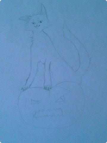 Добрый день! Сегодня я покажу вам мои новые рисунки. (Предупреждаю, что может быть плохое качество.)  Это ротвейлер.  фото 5