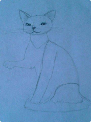 Добрый день! Сегодня я покажу вам мои новые рисунки. (Предупреждаю, что может быть плохое качество.)  Это ротвейлер.  фото 10