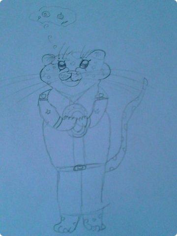 Добрый день! Сегодня я покажу вам мои новые рисунки. (Предупреждаю, что может быть плохое качество.)  Это ротвейлер.  фото 19