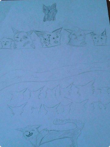 Добрый день! Сегодня я покажу вам мои новые рисунки. (Предупреждаю, что может быть плохое качество.)  Это ротвейлер.  фото 24