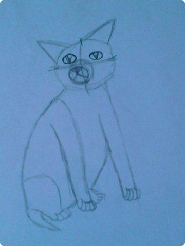 Добрый день! Сегодня я покажу вам мои новые рисунки. (Предупреждаю, что может быть плохое качество.)  Это ротвейлер.  фото 25