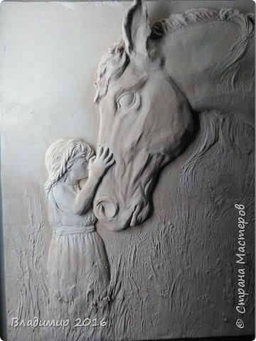 Девочка и лошадь 2