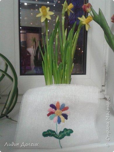 На этой фотографии вышивки,которые мои внучки выполнили в подарок маме на 8 марта. Конечно помогать им пришлось, но посмотрите на них  ( одной только исполнилось 7, а другой ещё нет 2 ) фото 6