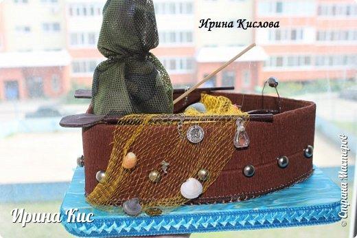Давно хотела сделать рыбаков, наконец нашла повод:) Первый - без конфет фото 1