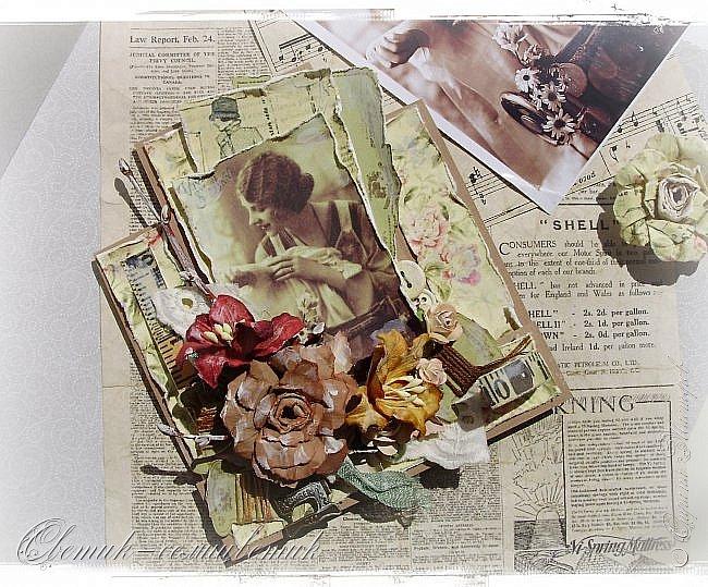 Доброго времени суток всем друзьям и гостям моей странички! У меня сегодня открытка швейная - винтажная! Для моей любимой подруги - швеи и вышивальщицы! Пусть любая работа в ее руках спорится! Пусть времени на любимое дело будет с избытком! фото 3