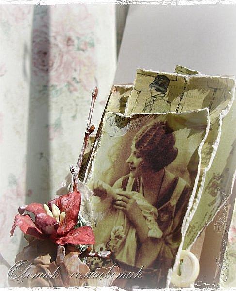 Доброго времени суток всем друзьям и гостям моей странички! У меня сегодня открытка швейная - винтажная! Для моей любимой подруги - швеи и вышивальщицы! Пусть любая работа в ее руках спорится! Пусть времени на любимое дело будет с избытком! фото 1