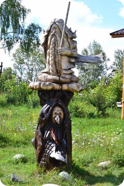 """В день приезда на Алтай мы посетили этнопарк """"Легенда"""", который поразил нас своей чистотой, широтой и душевностью фото 2"""
