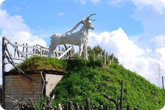 """В день приезда на Алтай мы посетили этнопарк """"Легенда"""", который поразил нас своей чистотой, широтой и душевностью фото 1"""