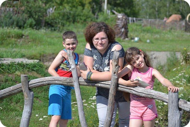 """В день приезда на Алтай мы посетили этнопарк """"Легенда"""", который поразил нас своей чистотой, широтой и душевностью фото 9"""