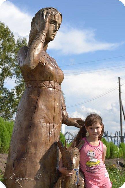 """В день приезда на Алтай мы посетили этнопарк """"Легенда"""", который поразил нас своей чистотой, широтой и душевностью фото 7"""