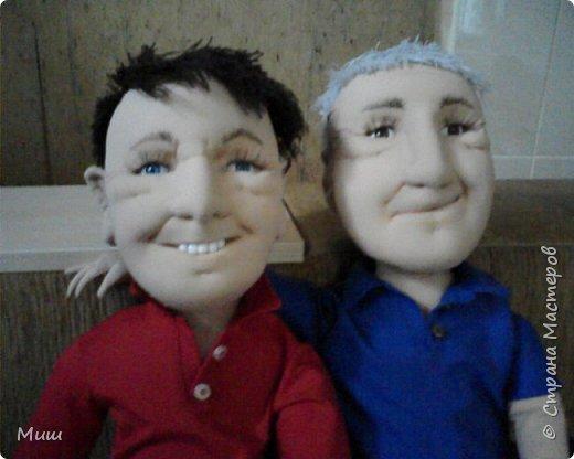 Моя первая проба портретных кукол по фотографиям фото 8