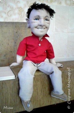 Моя первая проба портретных кукол по фотографиям фото 6