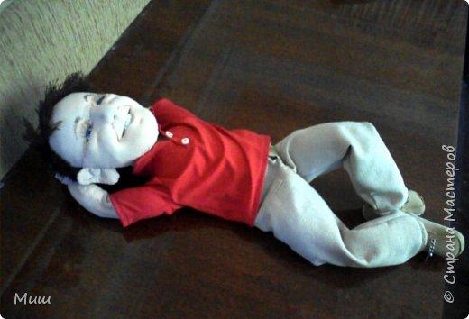 Моя первая проба портретных кукол по фотографиям фото 7