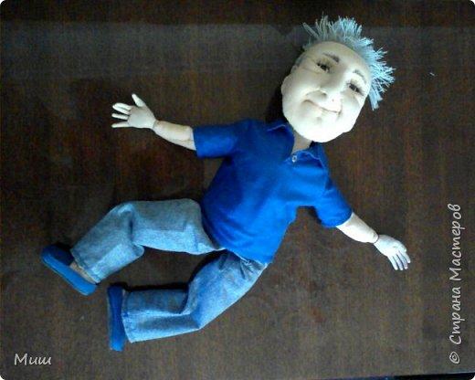 Моя первая проба портретных кукол по фотографиям фото 5