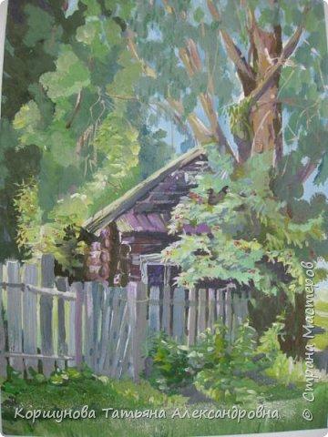 Старый домик в деревне. фото 1