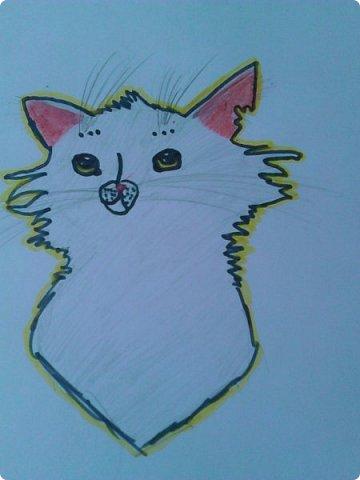 """Доброго времени суток! У меня еще немного рисуночков с:  Это Щербатая, целительница Грозового племени из серии книг """"Коты - воители"""". фото 3"""