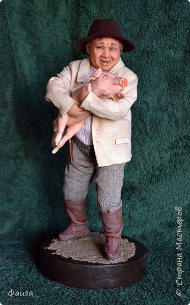 Здравствуйте, дорогие друзья! Снова спешу поделиться с вами своей новой работой. Первая попытка сделать портретную куклу.Надеюсь что хоть чуть -чуть мне это удалось)) Спасибо что заглянули ко мне .Приятного просмотра))) фото 2