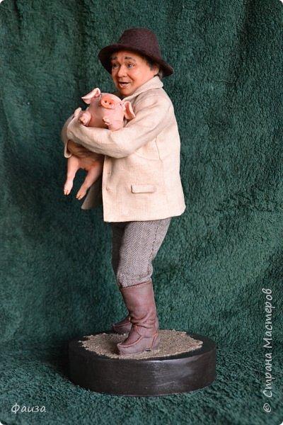 Здравствуйте, дорогие друзья! Снова спешу поделиться с вами своей новой работой. Первая попытка сделать портретную куклу.Надеюсь что хоть чуть -чуть мне это удалось)) Спасибо что заглянули ко мне .Приятного просмотра))) фото 3