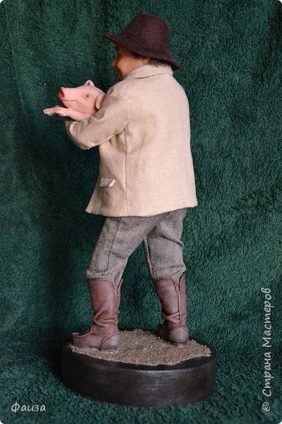 Здравствуйте, дорогие друзья! Снова спешу поделиться с вами своей новой работой. Первая попытка сделать портретную куклу.Надеюсь что хоть чуть -чуть мне это удалось)) Спасибо что заглянули ко мне .Приятного просмотра))) фото 9