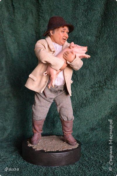 Здравствуйте, дорогие друзья! Снова спешу поделиться с вами своей новой работой. Первая попытка сделать портретную куклу.Надеюсь что хоть чуть -чуть мне это удалось)) Спасибо что заглянули ко мне .Приятного просмотра))) фото 4