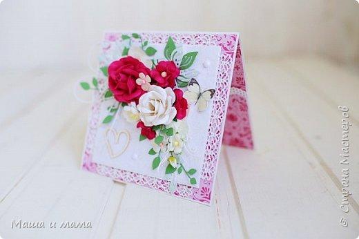 Всем приветы ещё раз за сегодня!! Ещё один конвертик-открытка на свадьбу цвета марсала. И букетик в конце, для вдохновения))) фото 6