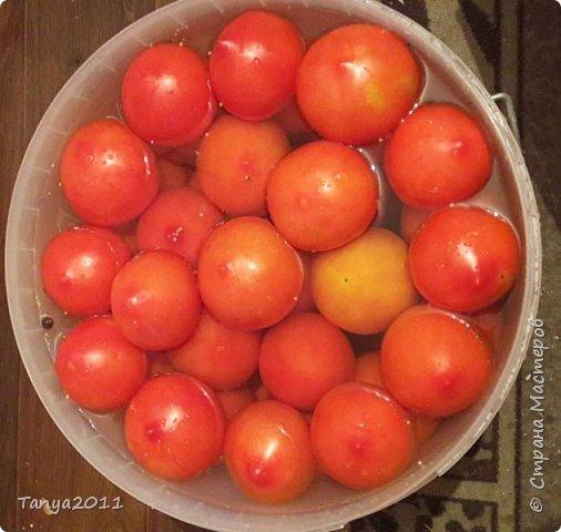 Для любителей бочковых помидоров. Мини МК.