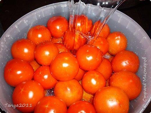 Для любителей бочковых помидоров. Мини МК. фото 8