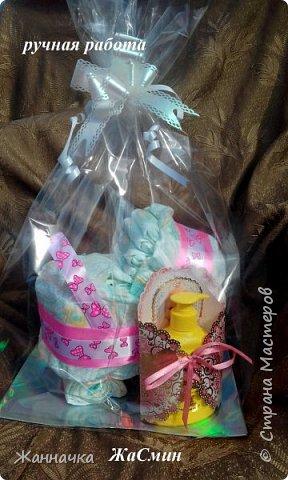 Подарки на выписку из роддома и крестины фото 3
